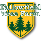 An illustration of the Fallowfield Tree Farm logo